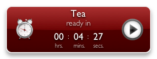 Tea Timer 1.6 (cayenne background)