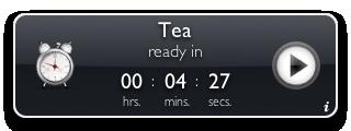 Tea Timer 1.6 (graphite background)