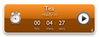 Tea Timer 1.6 (orange background)