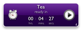 Tea Timer 1.6 (purple background)