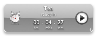 Tea Timer 1.6 (silver background)