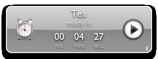 Tea Timer 1.6 (silver background)