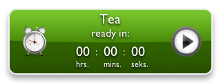Tea Timer 0.4 with backside showing the design preferences